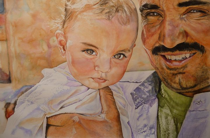 Abu (father) - Rachel Ondrak Studio