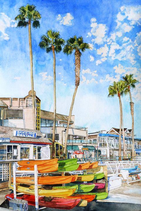 Balboa Beach shops - Rachel Ondrak Studio