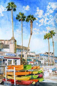 Balboa Beach shops
