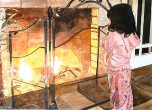 Danielle's First Fire