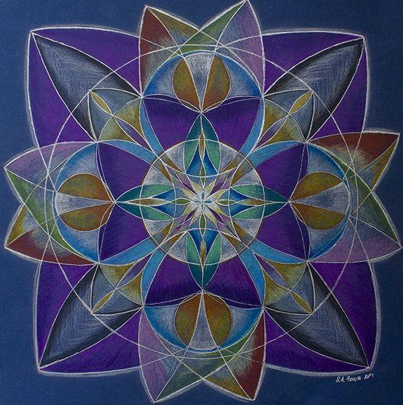 """Mandala """"Vision"""" - Soul Design"""