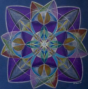 """Mandala """"Vision"""""""