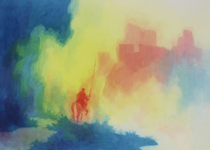 Knight and Castle - Gene Talbott