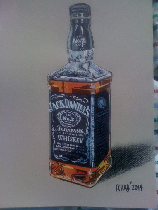 JACK DANIEL'S BOTTLE - davidschab gallery