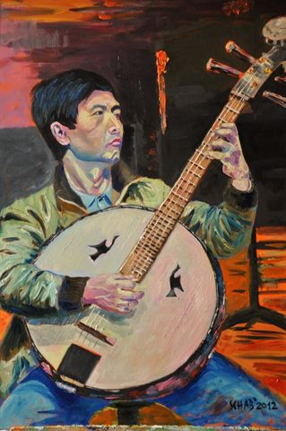 CHINESE MUSICIAN - davidschab gallery