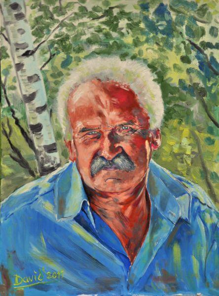 MAN WITH MUSTACHE - davidschab gallery