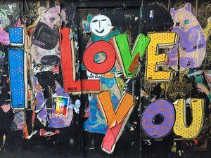 Graffiti at the streets of Brighton
