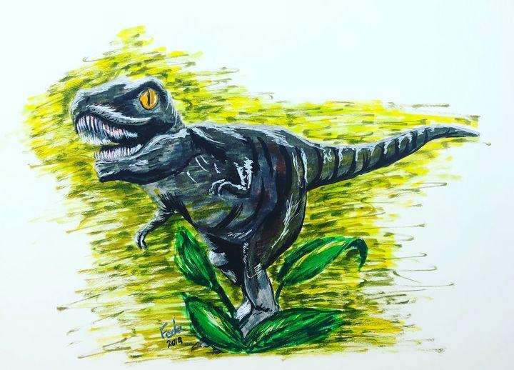 Dinosaur - Feda's Art