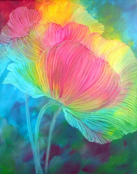 Bright Poppies - Rose Wenkel