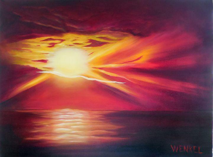 Carolina Beach Sunrise - Rose Wenkel