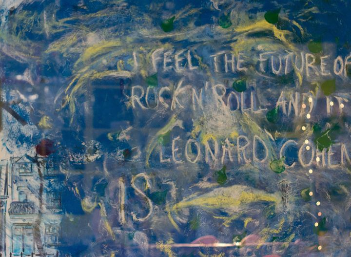 I Feel the Future of Rock n' Roll... - Paintings by Lévi