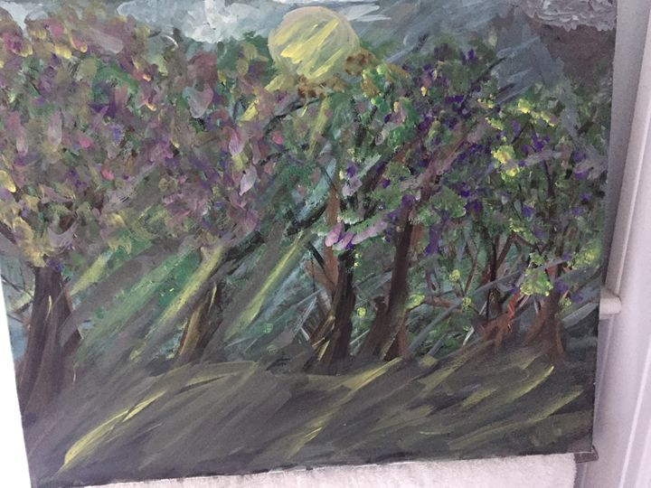Haunted Forest - Lilyart