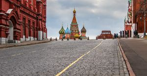 Cathedral at Red Square