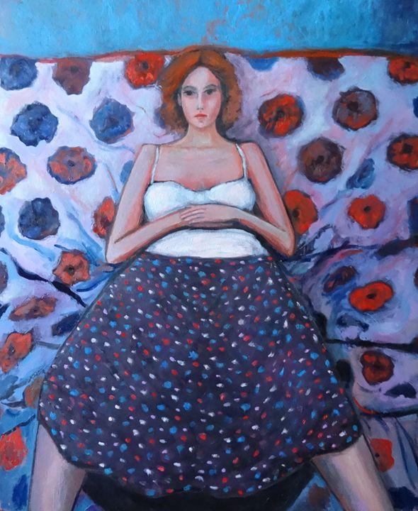 Portrait of a young woman - Massimiliano Ligabue