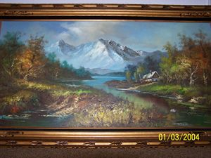 G.Whitman oil painting