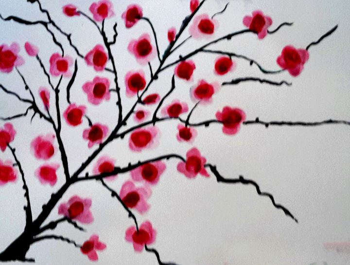 Cherry Blossom Tree - Janay Clare Designs
