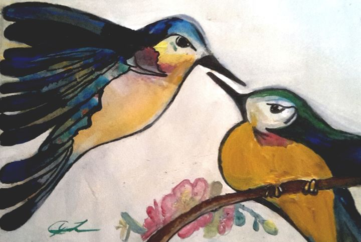 Love Birds - Janay Clare Designs