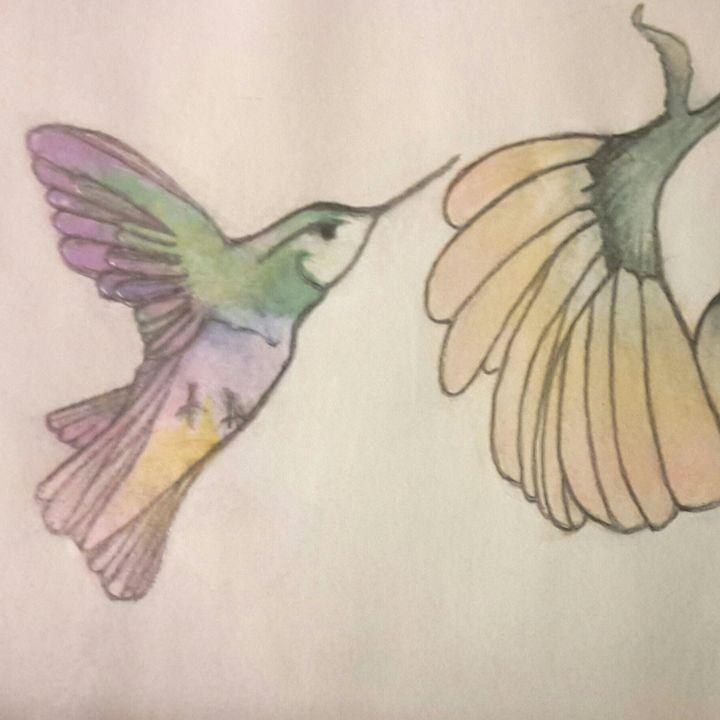 Hummingbird Flower - Janay Clare Designs