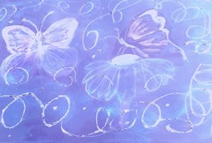 Butterfly Glory (Blue)