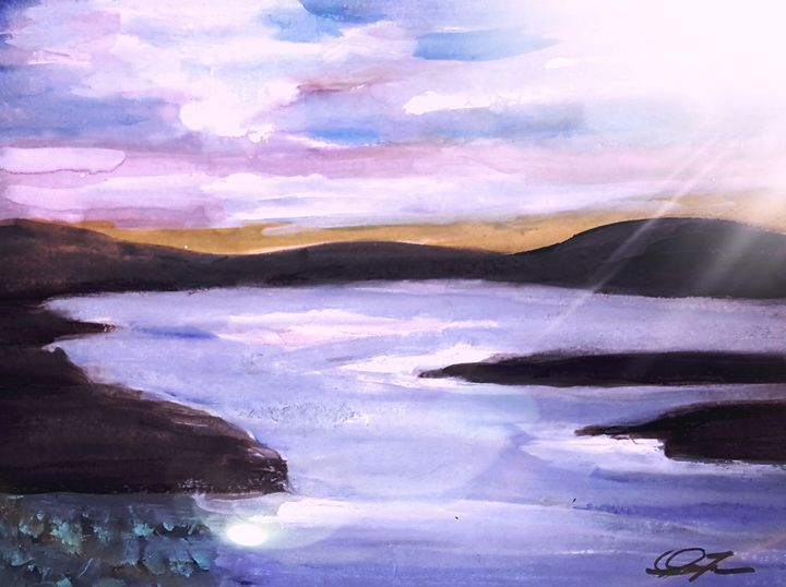 The Lake - Janay Clare Designs