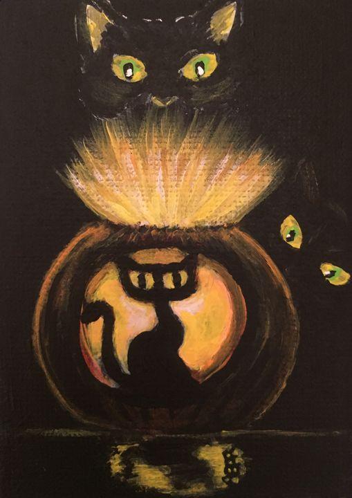 Black Cat Glow - Amanda Frazier Rhode