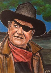 John Wayne aka Rooster Cogburn