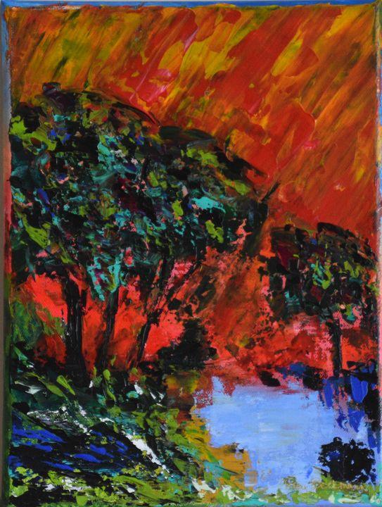 Walk In Wonder - Brushstrokes by tracy beckmann