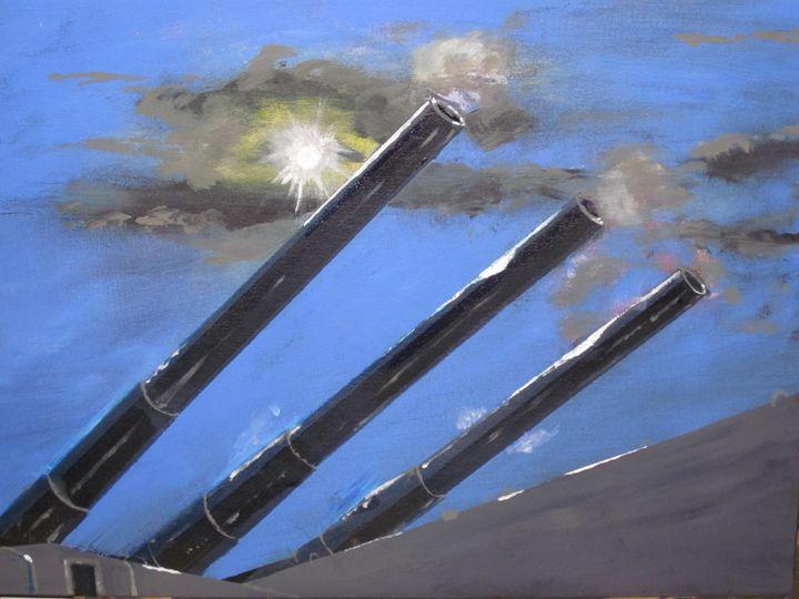 Naval Power / Old School - chris cooper's art