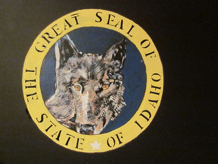 Proposed New State Seal For Idaho - chris cooper's art
