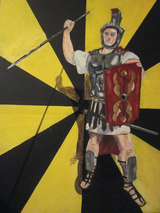 Roman Tax Collector   IRS - chris cooper's art