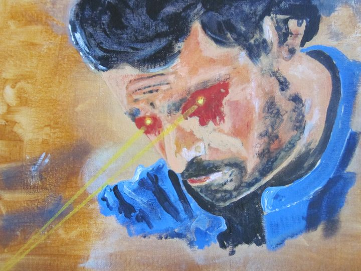 Superman's Power - chris cooper's art