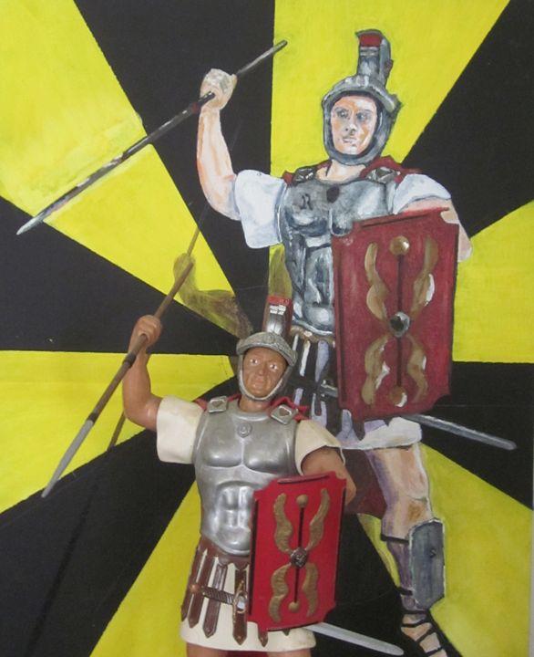Roman Centurion Poser - chris cooper's art