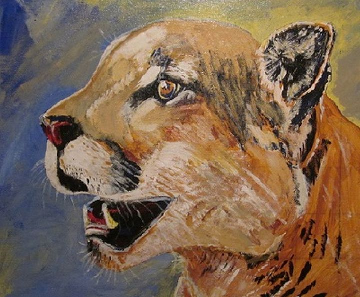 Mountain Lion - chris cooper's art