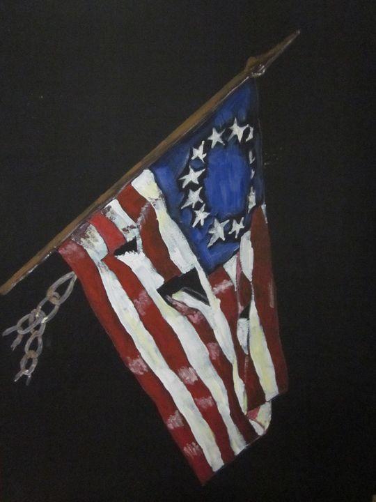 American Flag / 13 Colony - chris cooper's art