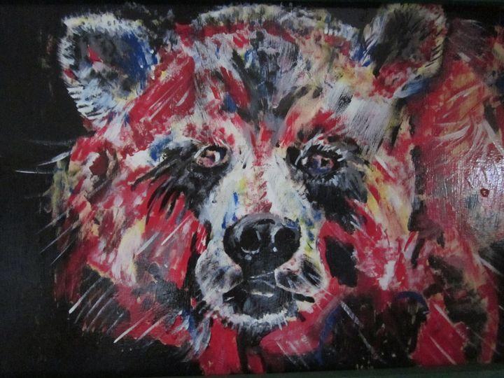 Red Bear - chris cooper's art