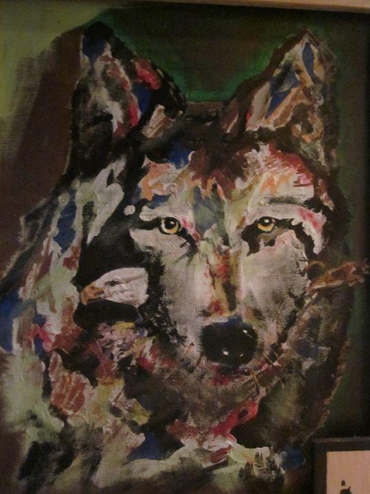Wolf of Colors - chris cooper's art