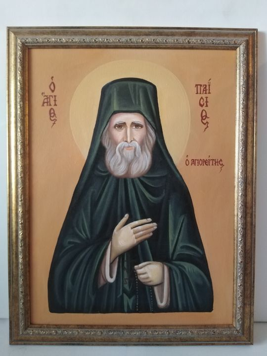 Saint Paisios of Mount Athos - Cocca Virginia