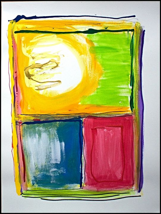 Color Series 18 x 24 on WC Paper - Kolberg Studio