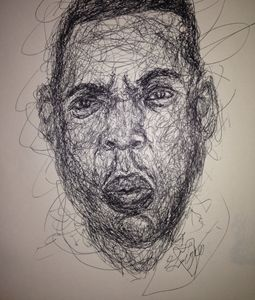 Jay-z scribbled