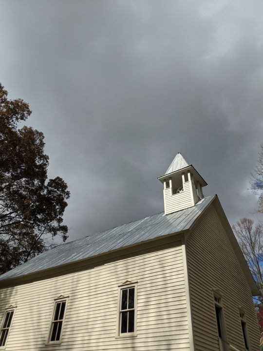 Old church - Splash Of Paint by Constance Hart
