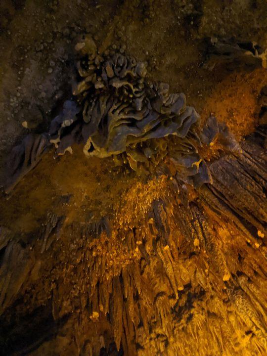 Cavern's - Splash Of Paint by Constance Hart