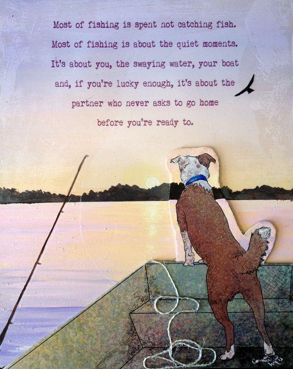 Fishing Partner - Crooked Crow Studio