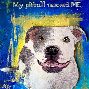 My Pitbull - Crooked Crow Studio