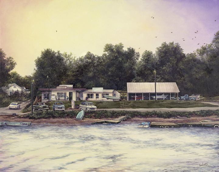 Lake Blue Ridge Marina - Crooked Crow Studio