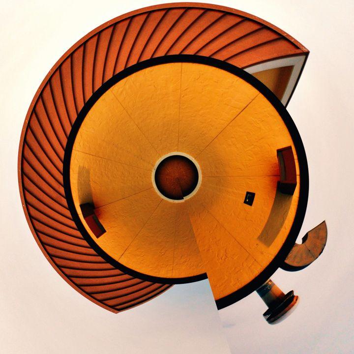 Orange Abstract. - IIBXYENCEVRTX™