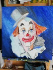 droevige clown