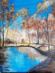 forest blauw