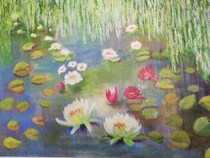 lotusbloemen 90X70