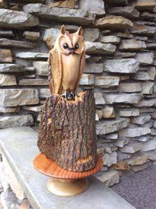 Outstanding Owl - simonsculpture
