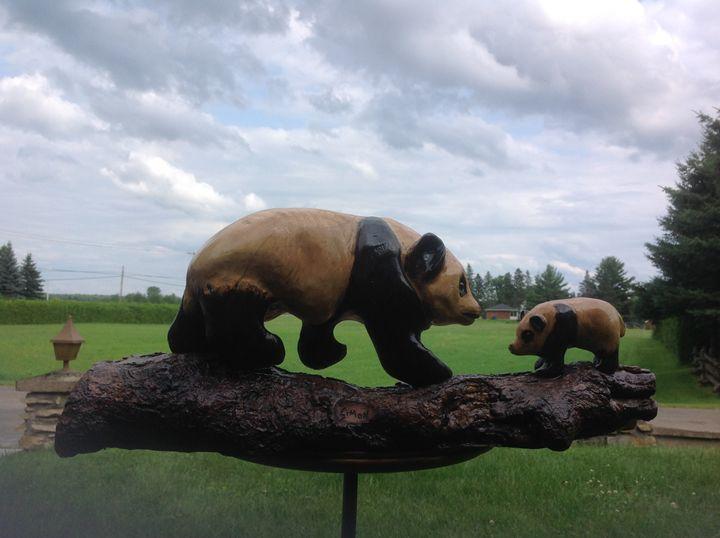 Panda Bears - simonsculpture